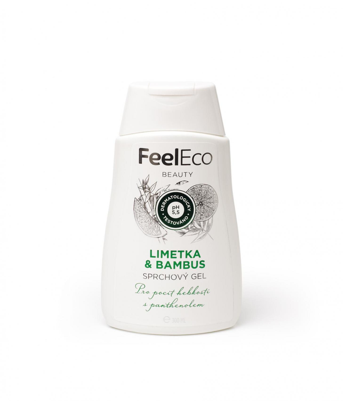 Feel Eco sprchový gel limetka & bambus 300ml