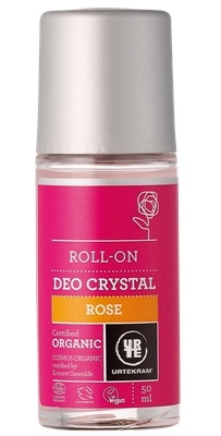 Urtekram roll-on Růže, 50ml
