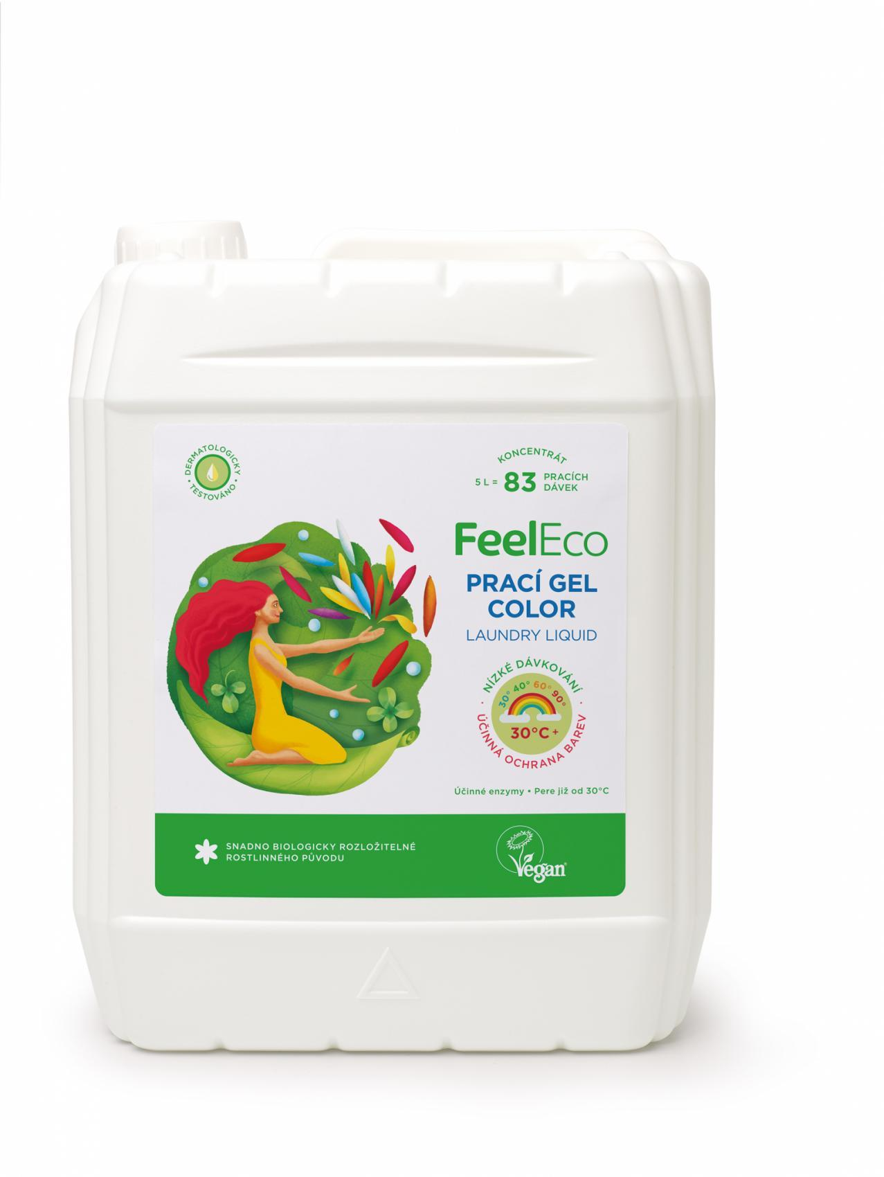 Feel Eco color prací gel 5l
