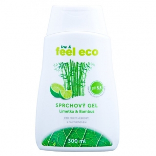 Feel Eco sprchový gel limetka & bambus, 300ml